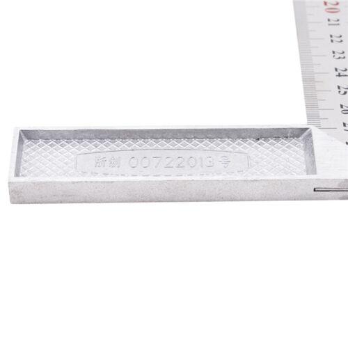 Utile de Mesure Combinaison SQUARE viseur D/'angle Ruler Straight Edge Gauge 30 cm