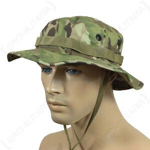 Multitarn Camo Rip Stop Boonie Hat - Bush Cap Sun Bucket Army Cadets ... cf5f438e24f1