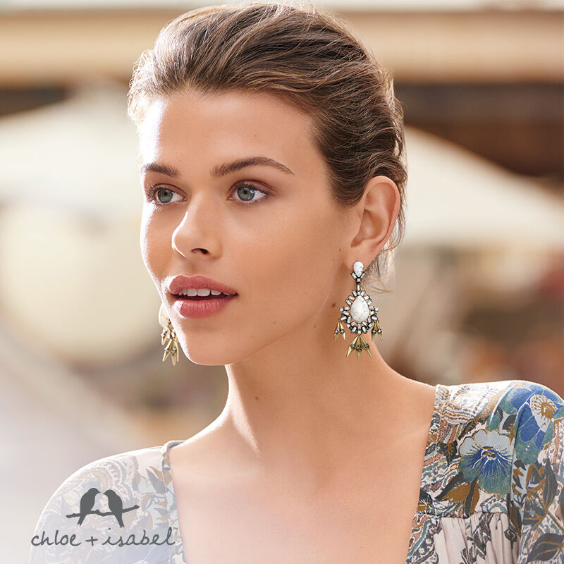 Chloe & Isabel Adventine Congreenible Earrings (3 in 1)