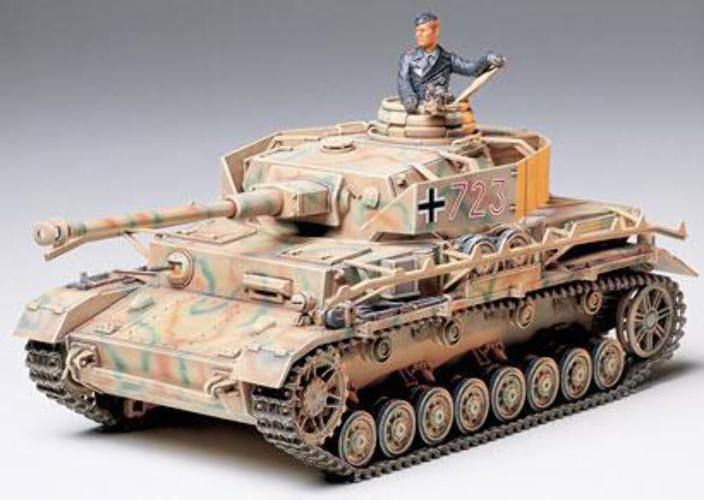 Tamiya German Panzerkampfwagen IV Ausf.J