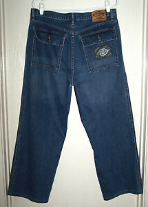 Fort 36 Taille Jeans Hommes Dickies Worth Ceinture Originals 34 4w187