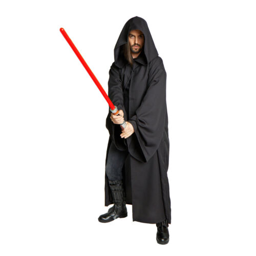 Adult Teen Mens Jedi Sith Anakin Emperor STAR WARS Lord Vader Costume Robe Cloak