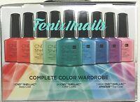 Rare Cnd Shellac Rainbow Kit 26-pc Complete Color Wardrobe Ed Intro Set