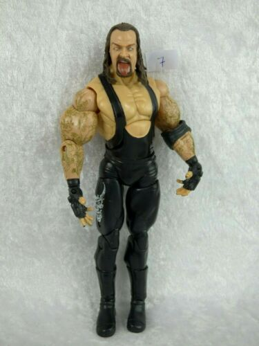 REF 7-8-9-10 Catcheur UNDERTAKER JAKKS WWE 2005 Figurine Catch