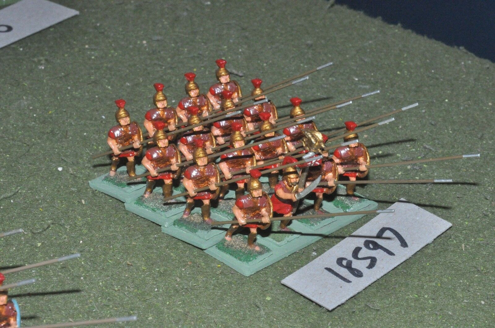 25mm classical   macedonian - pikemen 16 figs - inf (18597)