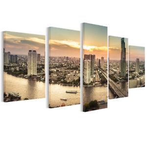 Leinwand Bilder Bangkok-Stadt - Foto, Bild, Wandbilder fürs ...