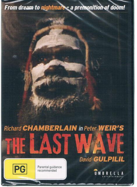 LAST WAVE  THE - DVD  DAVID GULPILIL  REGION 4  AUSTRALIAN MOVIE NEW AND SEALED