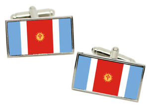 Select Gifts Federal District Flag Cufflinks /& James Bond Money Clip