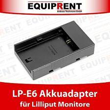 Lilliput Akkuadapter für Canon LP-E6 Akku und Lilliput Monitore (EQD00)