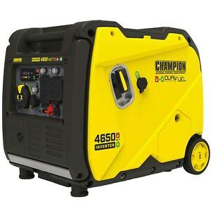 Champion 200994 - 3650 Watt Electric Start RV-Ready Dual Fuel Inverter Genera...