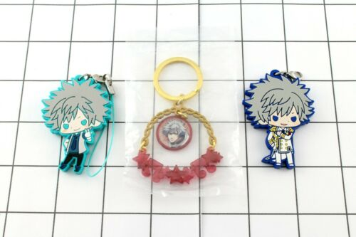 10 choices Uta no Prince sama Ranmaru Kurosaki strap can badge Ita bag Sets