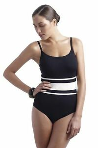 9-99-Half-Price-PANACHE-Taylor-Black-Underwired-Swimsuit-32D-34D-38D
