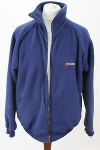 Berghaus Polartec blau Fleece Jacke Größe L