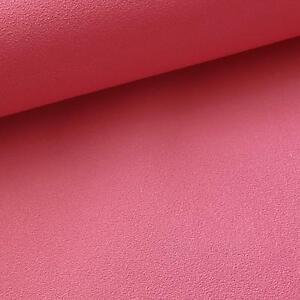 Details about Hot Pink Plain Wallpaper Textured Luxury Girls Bedroom  Nursery Kids Soft Baby
