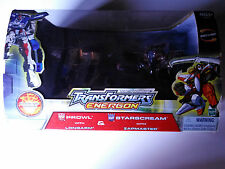 Transformers Energon Starscream Prowl Sam's Club EX NEW