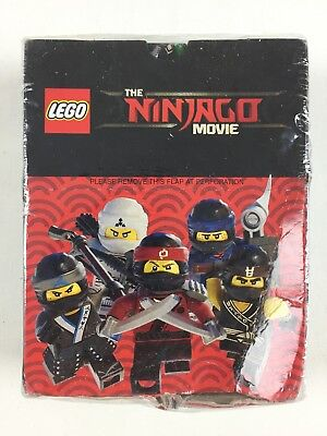 1 x Display//50 pochettes NEUF LEGO The Ninjago Movie Sticker-LEERALBUM