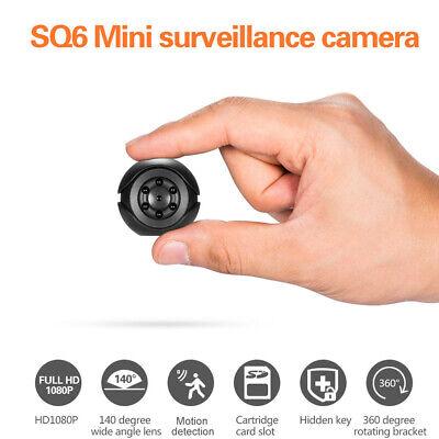 1080P Mini Spy Camera Motion Detection Hidden DV DVR Nanny Cam IR Night Vision