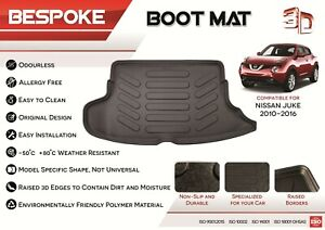NISSAN NOTE 13-ON  HD QUILTED WATERPROOF BOOT MAT LINER
