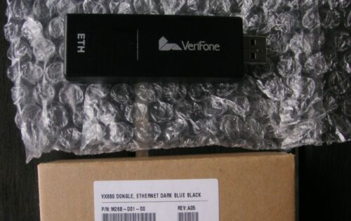 VeriFone Vx680  ETHERNET//IP ETH dongle w// cable **BRAND NEW**