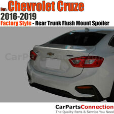 Painted Abs Rear Trunk Spoiler For Chevy Cruze Flush Mount 16 19 Red Hot Wa130x Fits Cruze