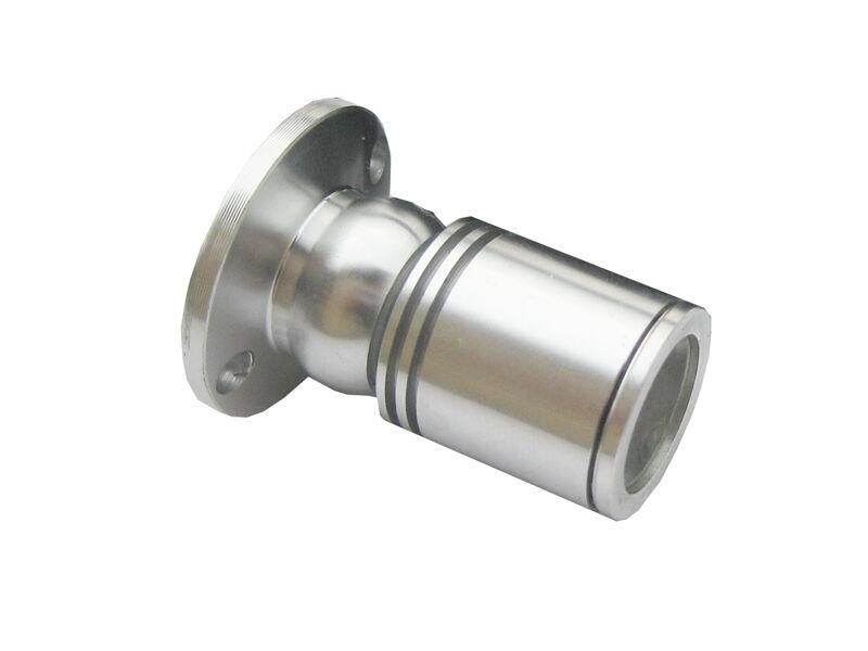 10 x 1W Mini LED Spot Lampe Kit Surface monté Armoire Projecteur Blanc Pur