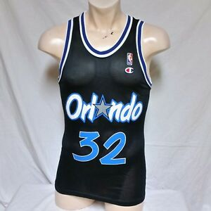 sports shoes 64706 c271c Details about VTG Shaquille O Neal Orlando Magic Champion Jersey 90s NBA  Basketball Shaq 36