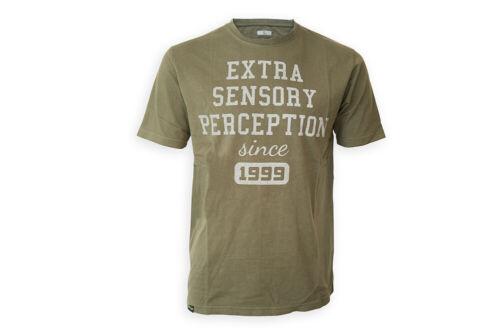 ESP Extra Sensory Perception Sixth Sense T-Shirt Olive Green *All Sizes*