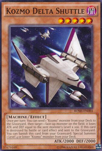 Common Near Mint Kozmo Delta Shuttle Unlimited Edition x3 BOSH-EN084