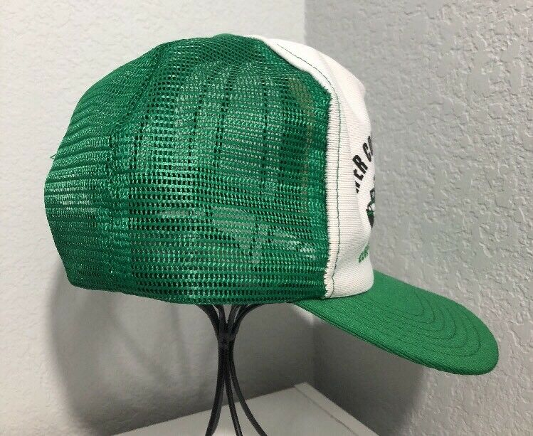 separation shoes 42a8e f95a5 ... promo code for vintage field lower coast perforators oil field vintage  texas green trucker hat cap