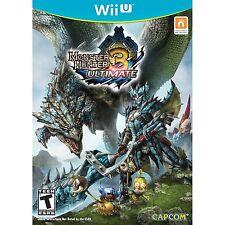 Monster Hunter 3: Ultimate [Nintendo Wii U, NTSC, Beast Hunting Crafting] NEW