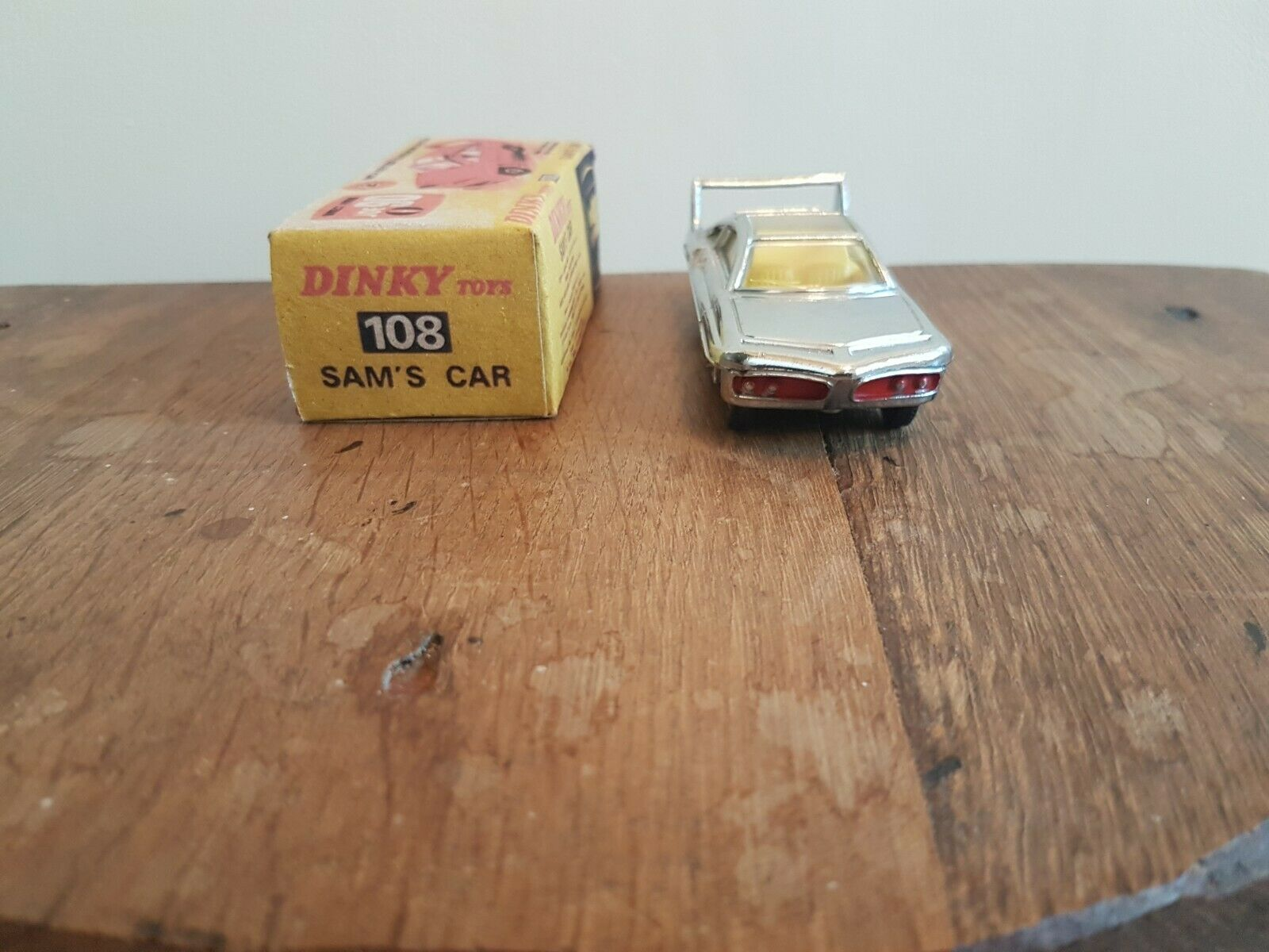 Rare Dinky Sam's Car 108 from the Joe 90 TV Series