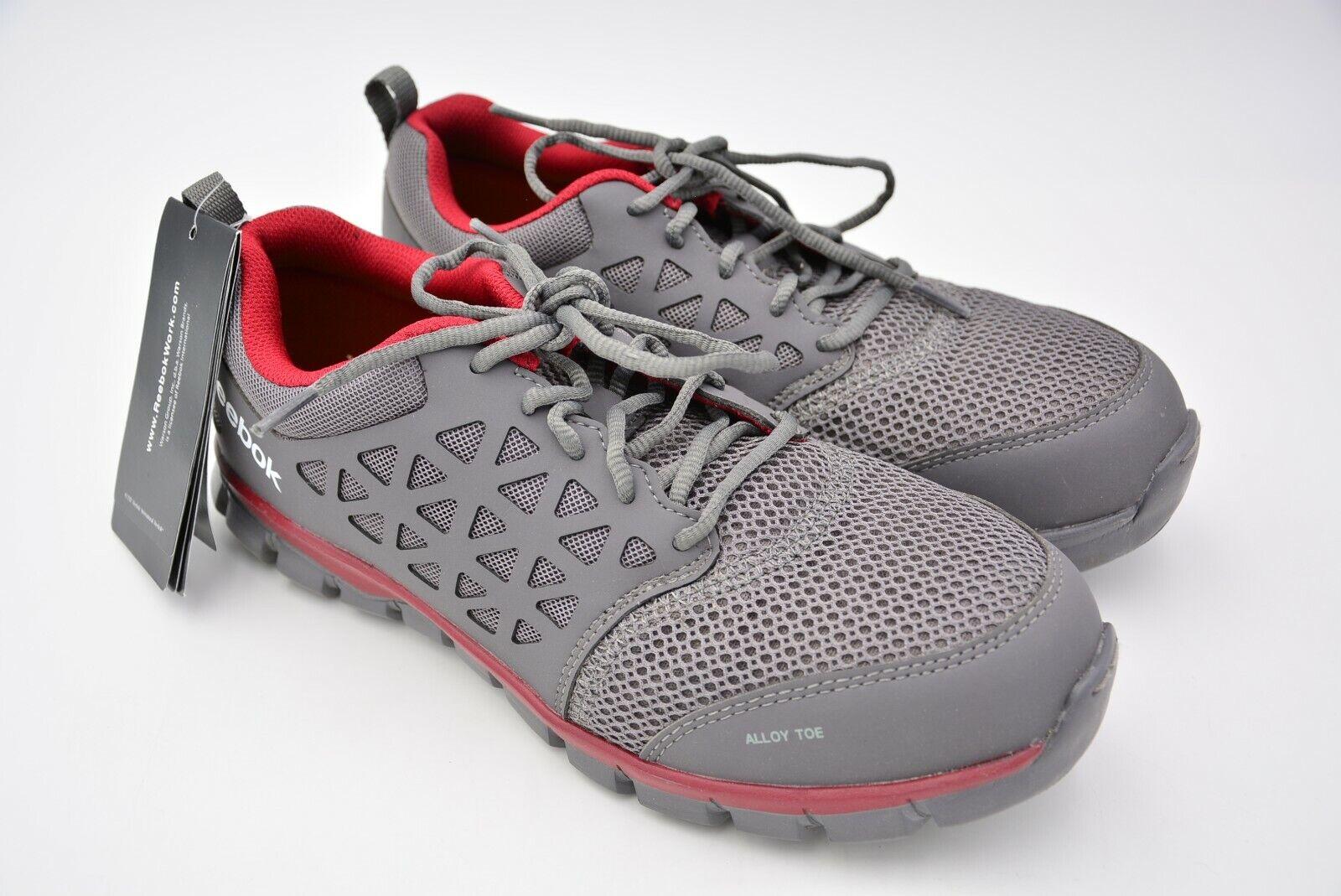Calzado Para Hombre Sublite Cojín constructio Reebok Rojo gris Sintético Usa