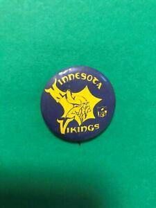 Vintage Minnesota Vikings 1960/'s 1 3//4/' Pin