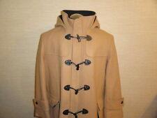 Men's Neat Beige Wool Blend L.L BEAN By Sterlingwear Of Boston Duffel Coat Sz-XL