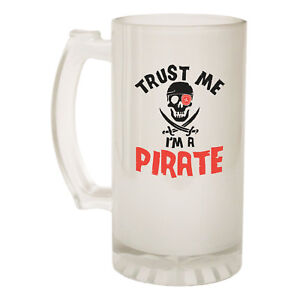 Funny Novelty Christmas Birthday Frosted Pint Glass Cheapest Price From Our Site Pirate Radio Beer Stein