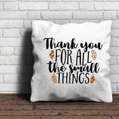 Love Valentines Gift Home Thank You For All The Small Things Cushion