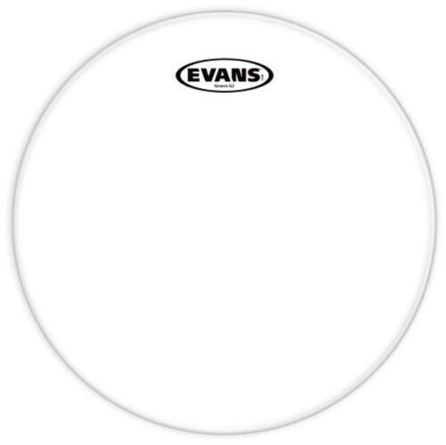 "Evans G2 Series TT08G2 Batter Two Ply 8/"" Clear Drumhead Drum Head"