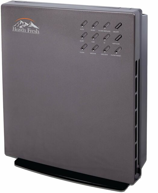NaturoPure 5 IN 1 Intelligent TURE HEPA & Carbon Air Purifier with CADR 165CFM