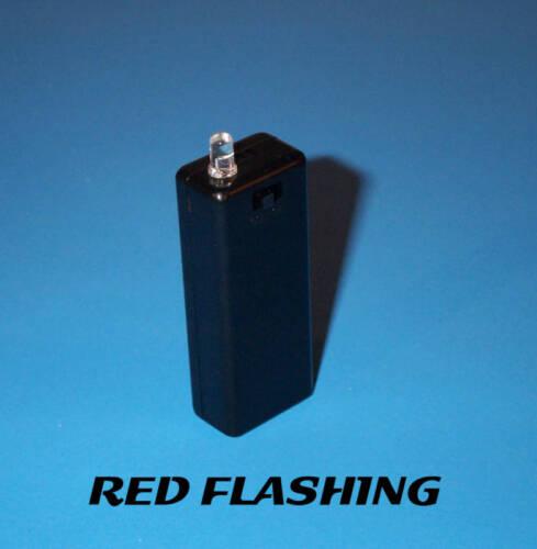 RED BLINKING AAA BATTERY FAKE CAR ALARM LED LIGHT