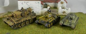 15mm-painted-WWII-German-tanks-Pz-V-and-T-34