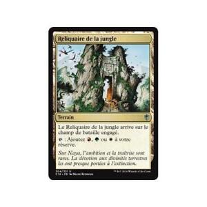 MTG-Magic-Playset-4x-Reliquaire-de-la-jungle-Commander-2016-VF