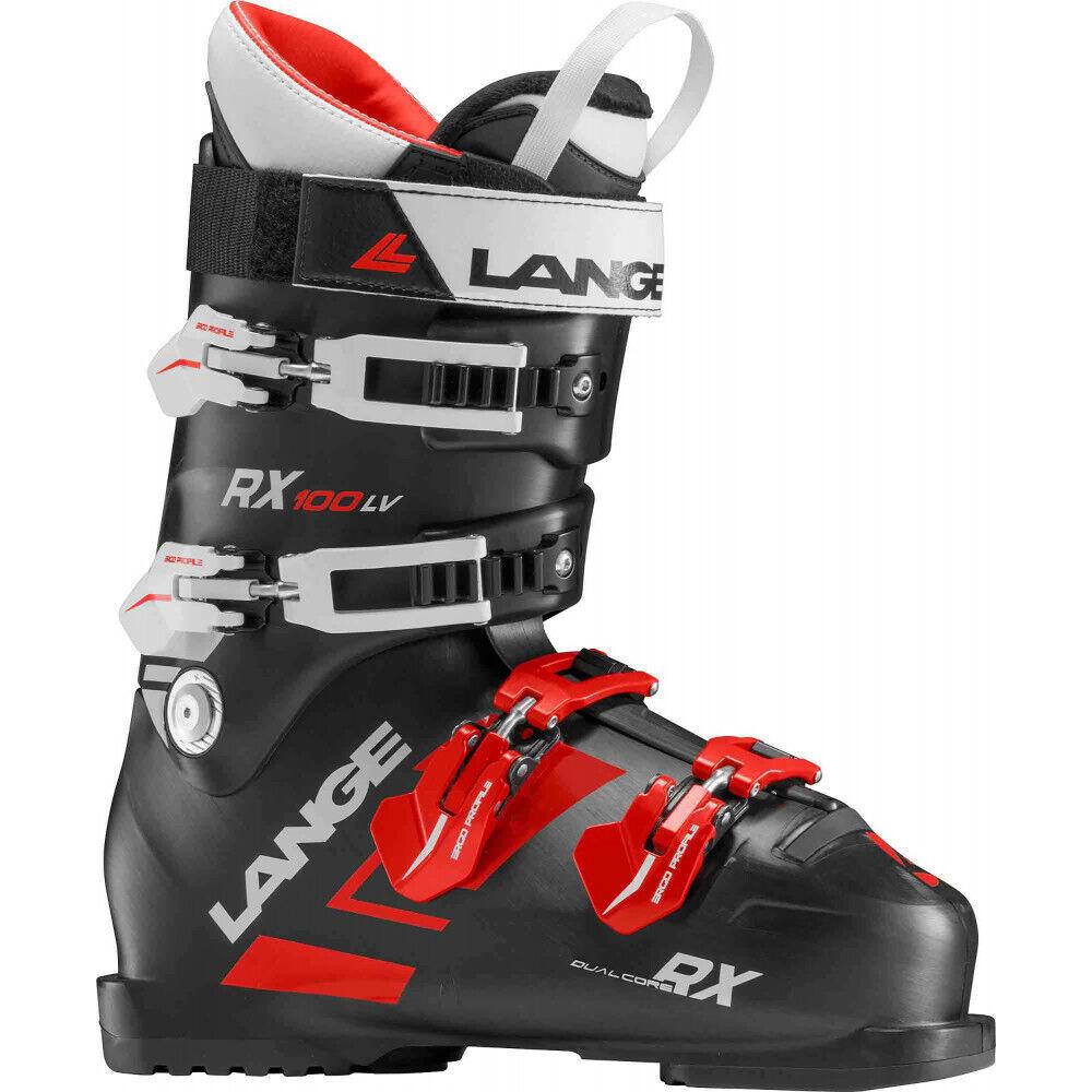 botas de Esquí Rx 100 L. V. Negro-Rojo