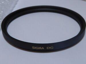 100% Vrai Sigma 86 Mm Ex Dg Numériquement Optimisé Uv Wide Angle Mc Filtre-afficher Le Titre D'origine