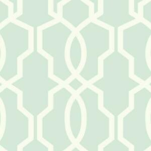 Wallpaper-Eggshell-White-Hourglass-Trellis-on-Light-Soft-Aqua