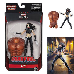 """In STOCK Hasbro Toys Marvel Legends /""""X-23/"""" with Sasquatch BAF Action Figure"""