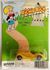 """Vintage 1981 Richie Rich Old Timer Car """"Morgan Plus 8"""" Larami Corp. Die Cast MOC"""