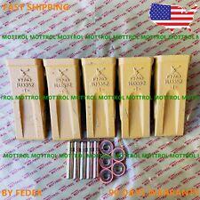 Titan Attachments 1U3352 Bucket Teeth Side Pin 9J2358 and Retainer 9J2359 CAT J350 Digging Long