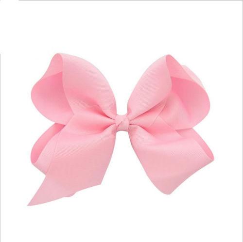 4 inch Big Bows Boutique Hair Clip Pin Alligator Clips Grosgrain Ribbon Bow Girl