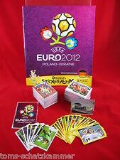 Panini Euro 2012 Satz komplett + Softcover Album + Neuer = alle Sticker EM 12