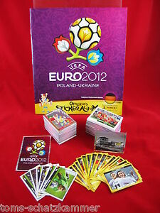 Panini-euro-2012-Jeu-Complet-softcover-album-nouvelles-tous-les-autocollants-em-12